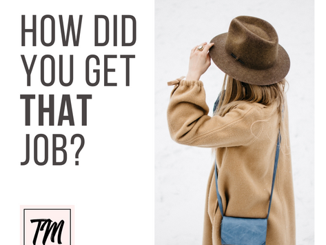 How did you get THAT job? Alex Shaughnessy - Director of Retail, Lululemon