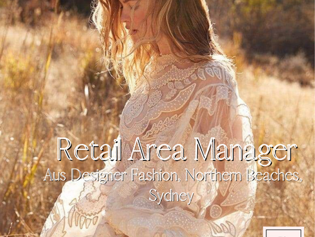 Cluster Manager - Aus Designer fashion - Northern Beaches