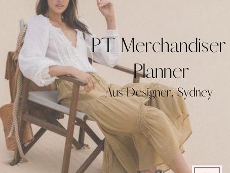Part-time Merchandise Planner - Aus Designer, Northern Beaches, Sydney