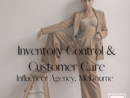 Inventory Controller & Customer Care, Melbourne's leading Athleisure Influencer Agency
