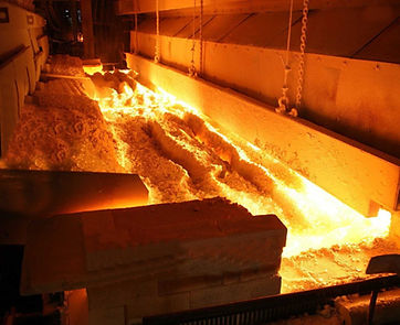 Glass production