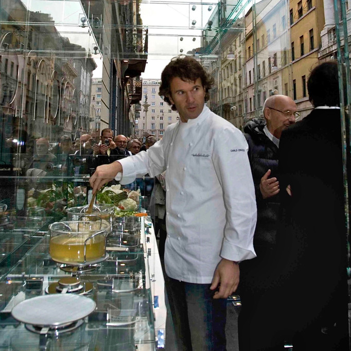 Carlo Cracco in Santambrogio|milano's kitchen