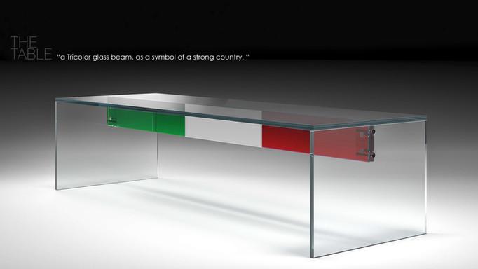 A Tricolor Table