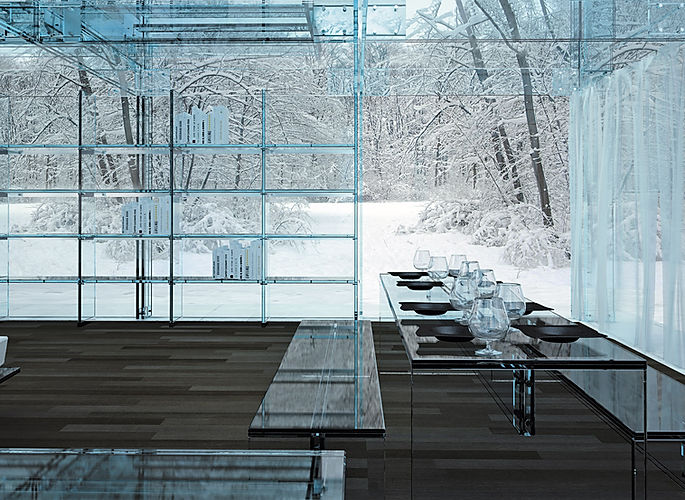 Glass Design Luxury Architecture