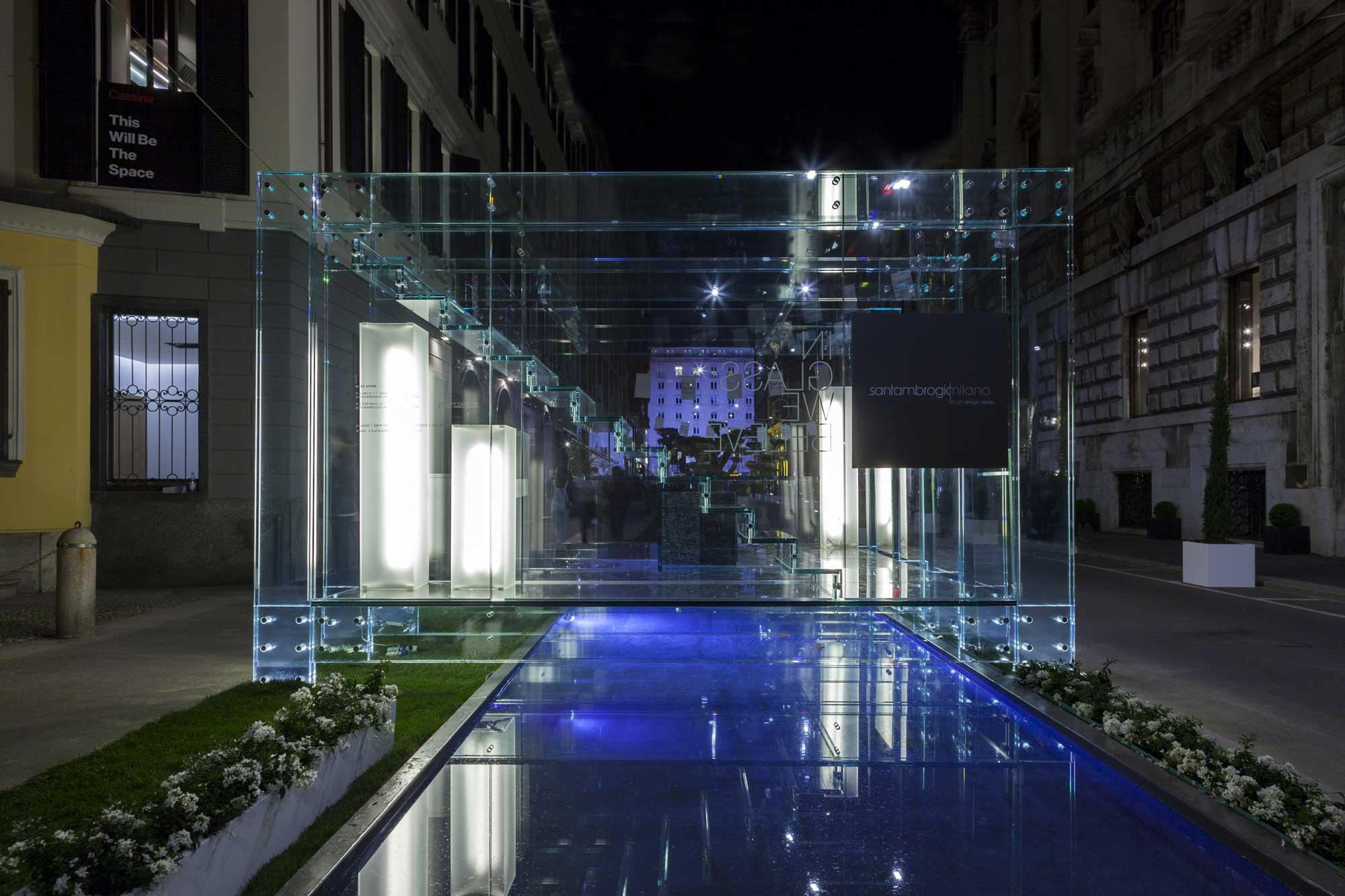 Glass Design Luxury Architecture Santambrogiomilano