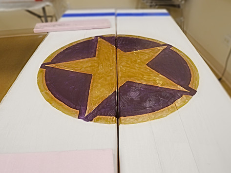 Gold star Painting
