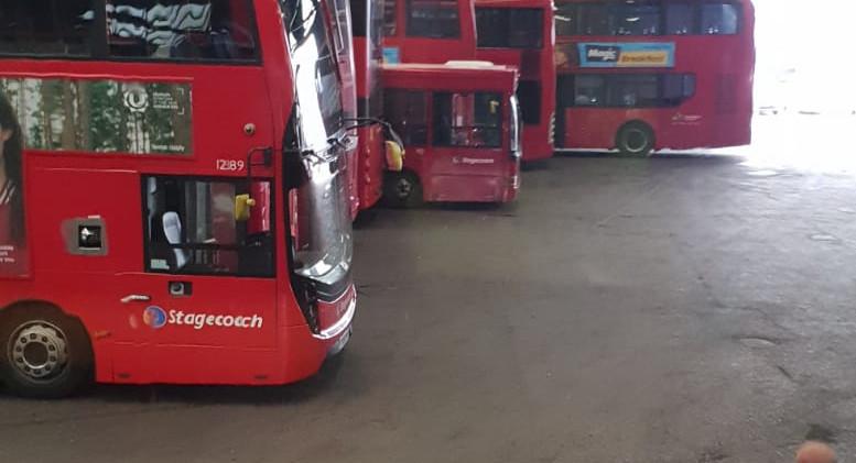 Bye Bus Garage. It was great.