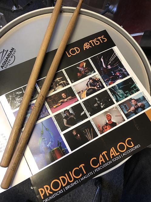 Pair of Garrett's Signature Los Cabos Drum Sticks (Signed)