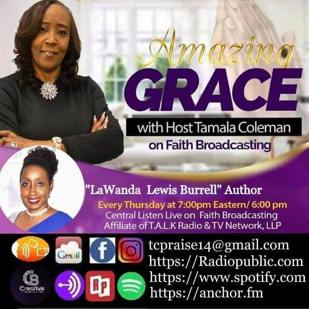 Amazing Grace w/ host Tamala Coleman Book Interview