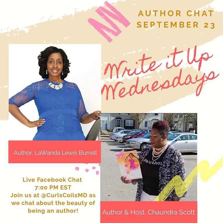 Write it Up Wednesdays Book Interview