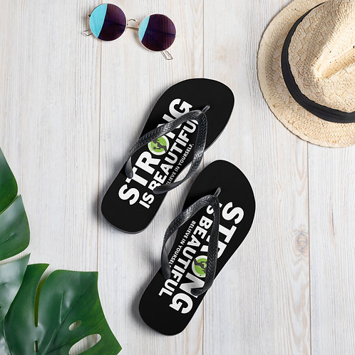NEW-STRONG IS BEAUTIFUL slippers!