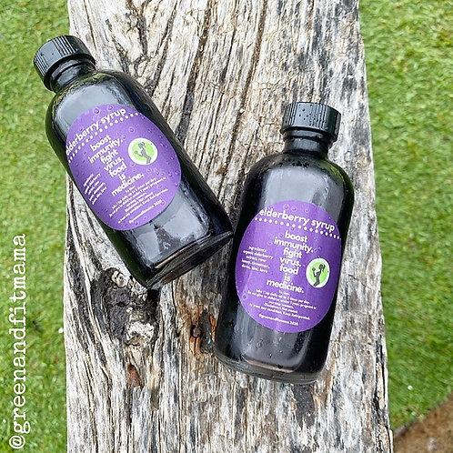 Flash SALE- 4oz. Elderberry Syrup-High in vitamin C