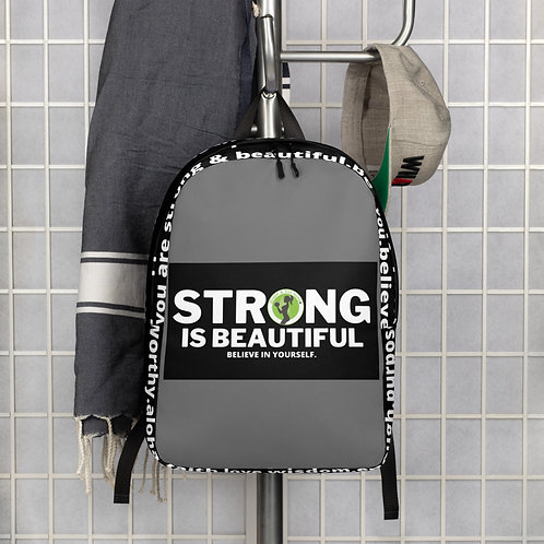 I trNEW-STRONG IS BEAUTIFUL Fit Collection Backpack