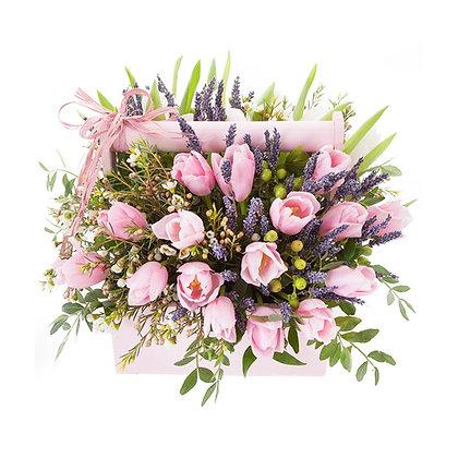 Корзины цветов 11