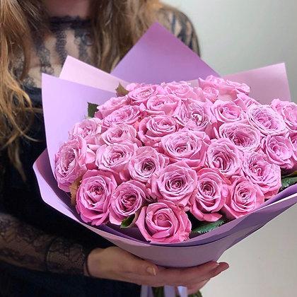 Монобукет из роз сорта Маритим