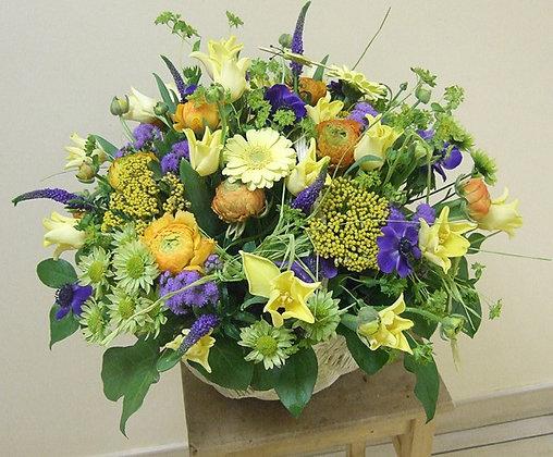 Корзины цветов 37