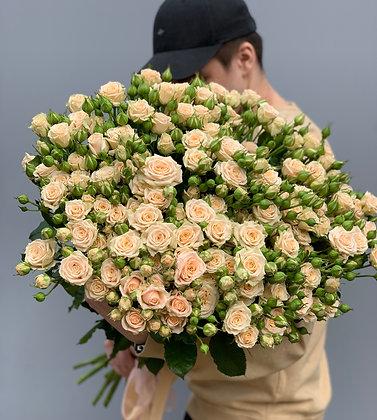 """Моно букет из кустовых роз """"Таня"""""""