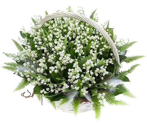 Корзины цветов 26