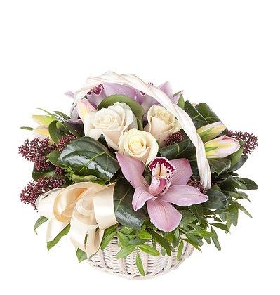Корзины цветов 12