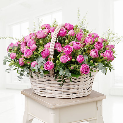 Корзины цветов 09