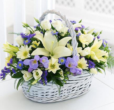 Корзины цветов 06