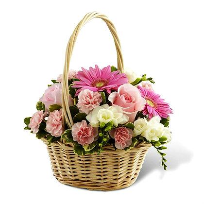 Корзины цветов 25