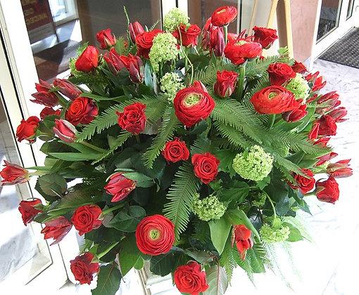 Корзины цветов 20