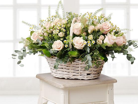 Корзины цветов 16