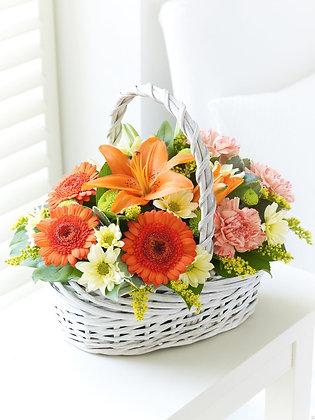 Корзины цветов 08