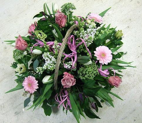 Корзины цветов 35