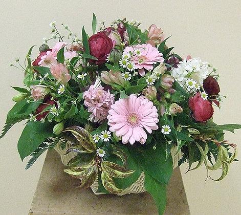 Корзины цветов 29