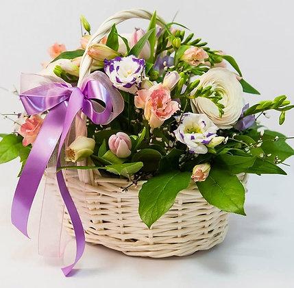 Корзины цветов 01