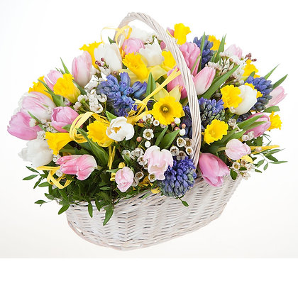 Корзины цветов 22