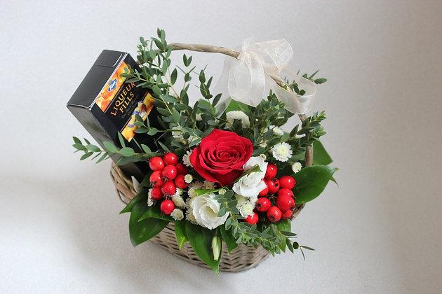 Корзины цветов 04