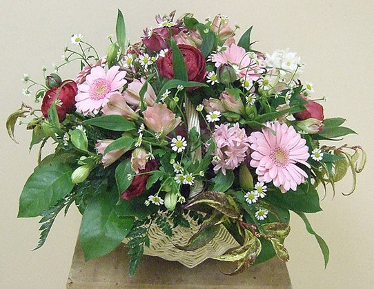 Корзины цветов 38