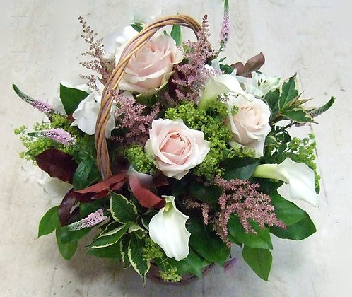Корзины цветов 32