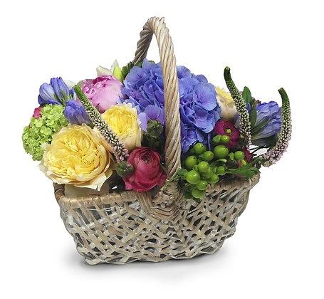 Корзины цветов 28