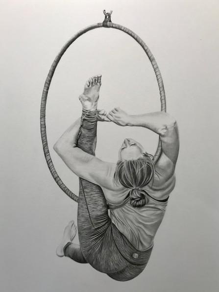 Portrait - Aerial Hoop