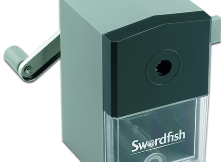 Artist Tools - Swordfish Pencil Sharpener