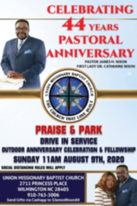 Pastor and First Lay Nixon Anniversary F