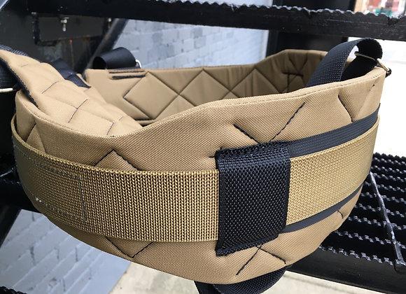 XL Coyote Contoured Belt w/ Suspenders