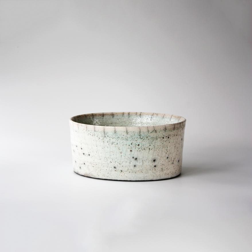 Raku Oval | Karin Sauer