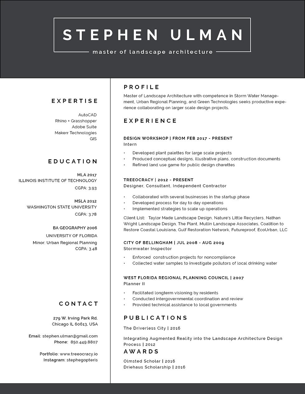 treeocracy resume