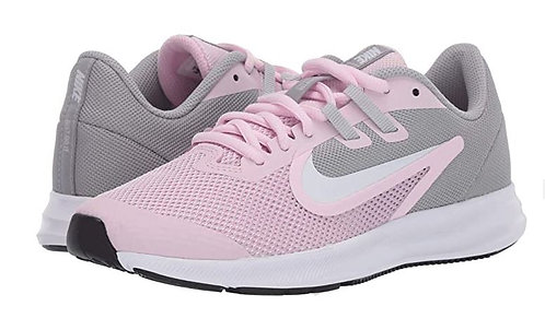 Nike AR4135 601 Downshifter 9 (GS) Athletic Shoes Girl's Pink/White