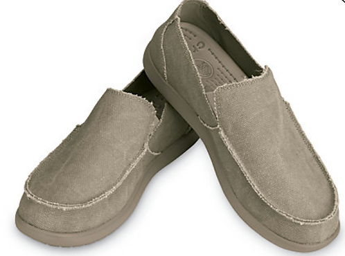 Crocs 10128-261 Santa Cruz Khaki Mens