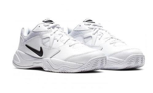 Nike AR8837 101 Court Lite 2 Wide (2E) Athletic Shoes Men's White/Black