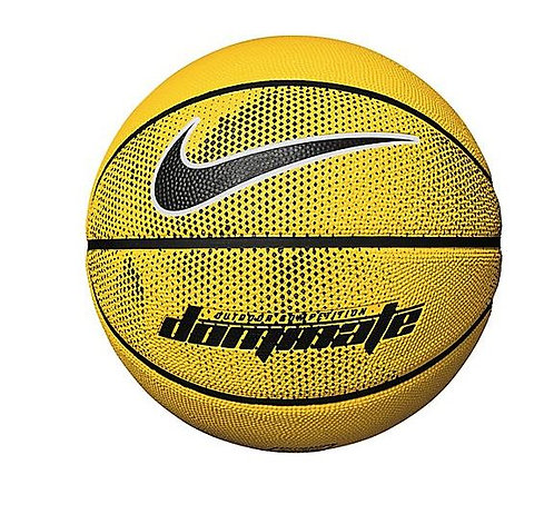 "Nike NKI0094007 Dominate Basketball Full Size 29.5"" Yellow/Black"