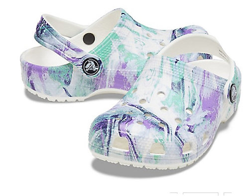 Crocs 206818-94S Classic Out Of This World White/Multi