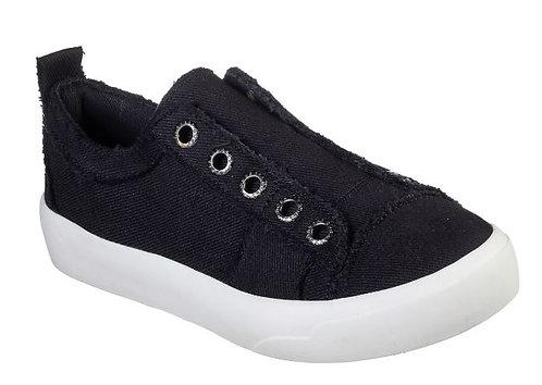 Skechers 31938/BLK Bobs Cloudy-Squadville Slip On Sneakers Women's Black