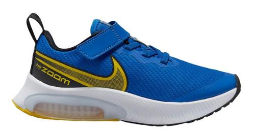 Nike CK0714 400 Air Zoom Arcadia (PSV) Kids Sneaker Royal/Yellow